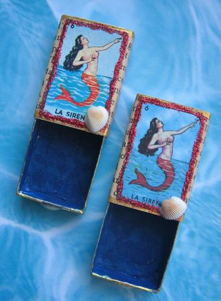 Completed Mermaid Boxes