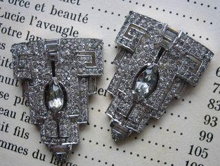 Rhinestone clips