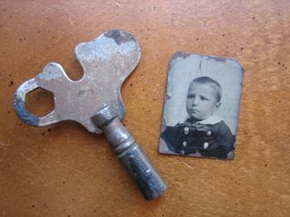 Key and tintype