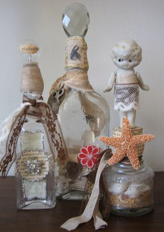 3 Altered Bottles