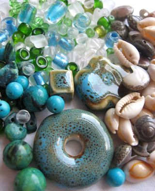 Beads from Lisa donut