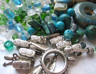 Beads from Lisa clasp