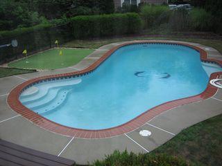 Pool from sunroom