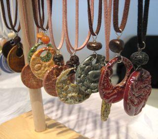 Earthy pendants