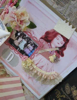 Lisa's scrapbook sample