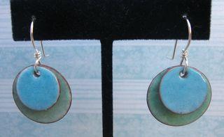 Candy enamel earrings