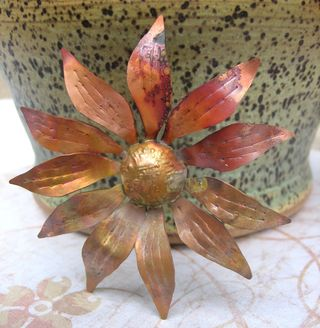Brass Flower 1