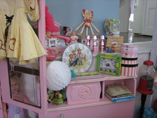 Small Pink Cabinet