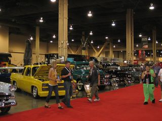Barrett Jackson showroom