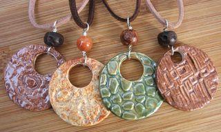 Shino pendants