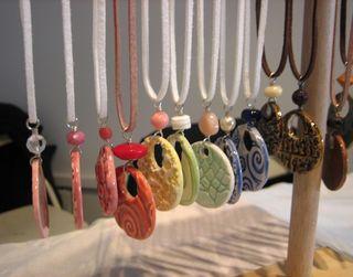 Rainbow of pendants
