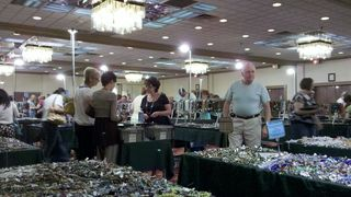 Busy bead show