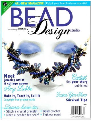 December 2011 Bead Design Studio Cover