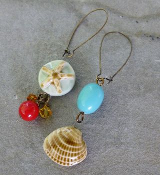 Ocean earrings 2
