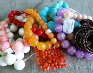 Lucite beads