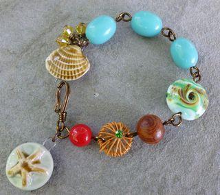 Seashell bracelet 1