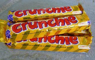 Crunchie bars