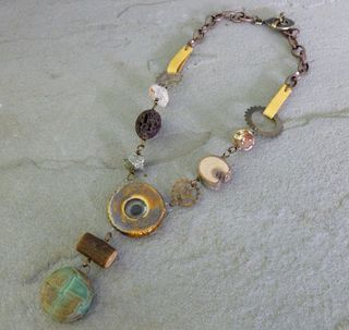Steampunk necklace 1