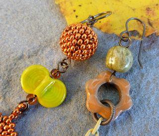 Art bead close up