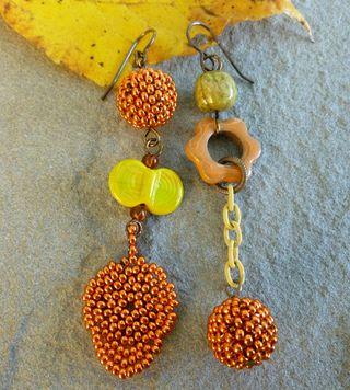 Kristens component earrings 2