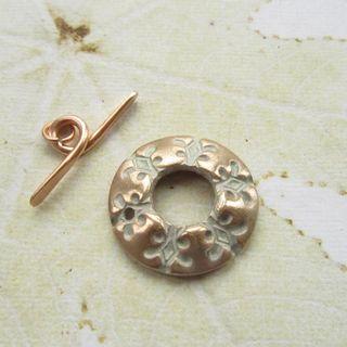Bronze snowflake toggle