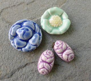 Assorted floral cool tones destash 1