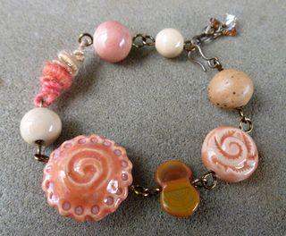 Pie bead bracelet 2