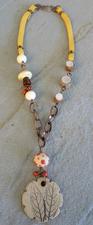 Forest floor necklace 2