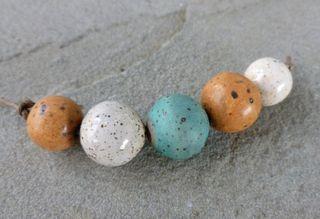 Speckled stoneware set 2