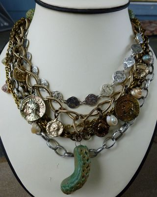 Assemblage necklace 1