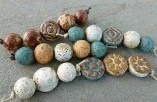 Stoneware bead sets