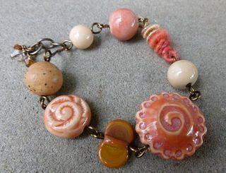 Pie bead bracelet 1