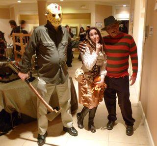 Horror show hot date
