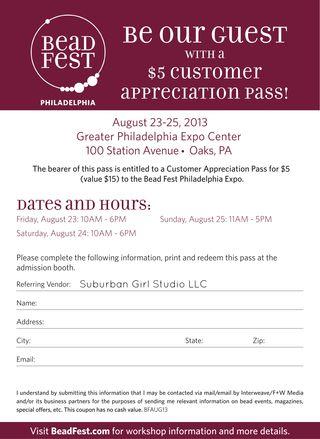 BF Customer Appreciation Pass