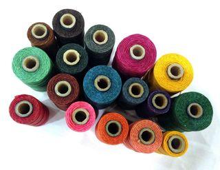 Waxed linen