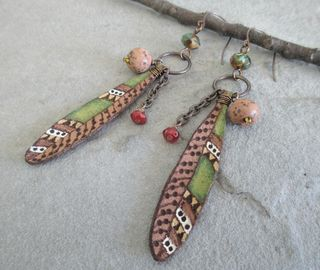 COM Feather Earrings 3