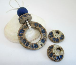 Blue Rustic Coin Set 1