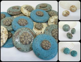 Urchin Cabochon collage